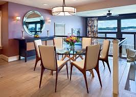 round glass dining table modern. mid-century style chairs for dining table round glass modern u