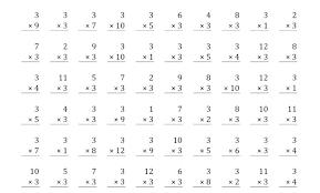 Rocket Math Chart Multiplication Practice Sheet Csdmultimediaservice Com