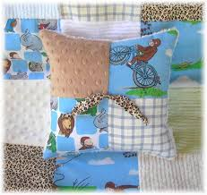 vintage curious george fabric chenille baby quilt crib bedding set boy girl gift