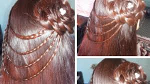 Hair Style Simple beautiful waterfall hairstyle simple hairstyle youtube 6639 by wearticles.com
