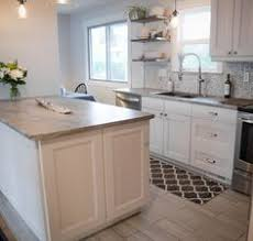 white laminate kitchen countertops. Before And After: DIY Kitchen Renovation White Laminate Countertops M