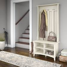 Image Entryway Storage Details About White Entry Hall Tree Bench Front Door Coastal Farmhouse Entryway Coat Rack Ebay White Entry Hall Tree Bench Front Door Coastal Farmhouse Entryway