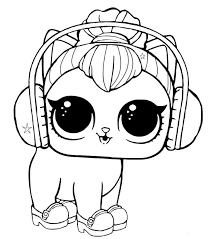 Now that we have given enough information on lol surprise dolls and lol pets, let's dive into the world of lol surprise pets coloring sheets to print. Lol Dolls Coloring Pages Best Coloring Pages For Kids