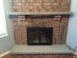 picture of fireplace reface