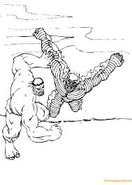 Some of the coloring pages shown here are 12 the hulk coloring, big muscle incredible hulk coloring, hulk c. The Hulk Vs Abomination Coloring Pages Cartoons Coloring Pages Free Printable Coloring Pages Online