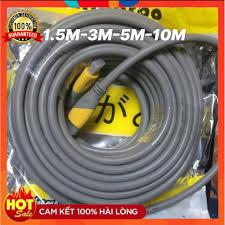Cáp HDMI ARIGATO 1.5m 3m 5m 10m lõi đồng HDTV 4K*2K (19+1) - Dây HDMI To  HDMI tròn chuẩn FULL HD 1080p