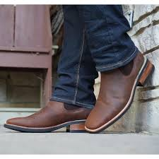 Our chelsea boots are handcrafted and made from real leather. Square Toe Chelsea Ankle Boots Men S Leather Chelsea Boots Soto Boots