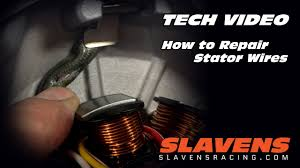 how to repair stator wires how to repair stator wires