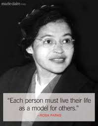 Rosa Parks Quotes Beauteous Best Rosa Parks Quotes Famous Quotes From Rosa Parks That Inspire