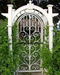 Decorative Metal Gates Design Garden Gates Decorative Gates Wrought Iron Aluminum Garden Custom Gate 2