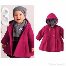 red newborn coat baby girls trench jacket overcoat hooded gown warm winter girl clothes poncho girls outerwear cloak free crochet poncho patterns for girls