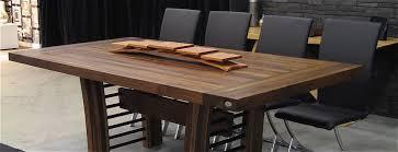 Table Comptoir Bloc De Boucher Et Il T En Bois Massif