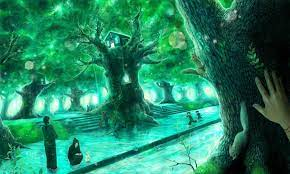 Anime HD Green Wallpapers - Wallpaper Cave
