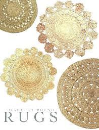 4 round jute rug world market designs 2 x foot