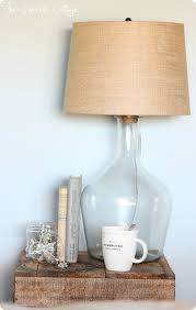 diy glass bottle lamp pottery barn knock off originally 280 at pottery barn make it yourself for under 30