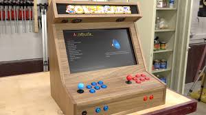 Raspberry Pi Game Cabinet Bartop Arcade W Raspberry Pi The Wood Whisperer