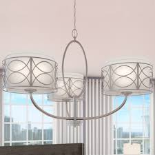 fascinating drum light chandelier drum set chandelier 3 light drum chandelier curtain seat white
