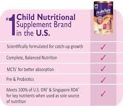 Pediasure Nutrition You Can Be Sure Of