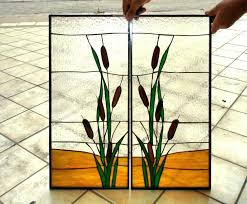 kitchen stained glass kitchen cabinet doors inserts and panels door insert