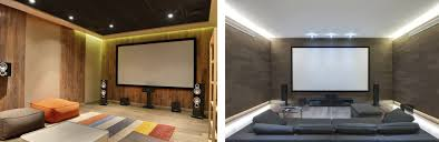 lighting for home theater. LED Cove Lighting Allows You To Add Home Theater Without Creating A Glare Or Shining Onto Your Screen. This Type Of Can Be Added Behind For
