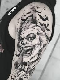 Cafa2501 Joker Tattoo Tattoo Tetování