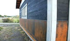 rusted metal siding sheet corrugated steel