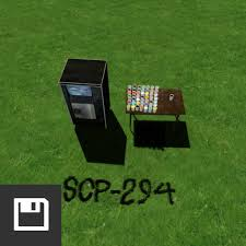 The main difference is that it has a standard english qwerty keyboard. Steam Workshop Scp 294 All Drinks