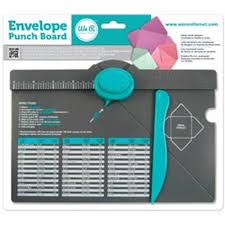 Envelope Punch Board By We R Memory Keepers