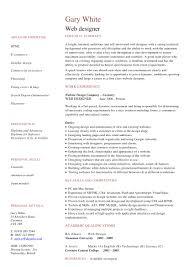 Designer Resumes Resume For Study