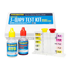 Oto Chlorine Test Color Chart Poolmaster 3 Way Swimming Pool And Spa Water Test Kit With Case