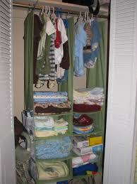 neat baby closet organizer
