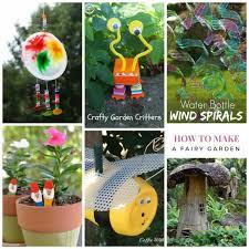 kid s garden craft roundup