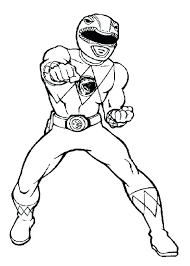 Power Ranger Coloring Picture Power Ranger Coloring Pages Pic