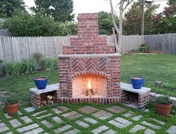 how to build a large outdoor fireplace google search