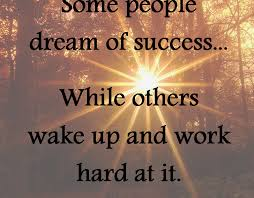 Dream Of Success Quotes Best of Some People Dream Of Success
