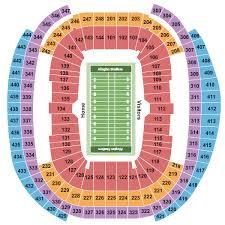 Allegiant Stadium Seating Chart Las Vegas
