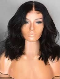 <b>Medium Center Parting Synthetic</b> Natural Wavy Wig | Wigs, Natural ...