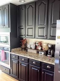 black kitchen cabinets makeover reveal, kitchen cabinets, kitchen design