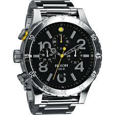 men s nixon the 48 20 chrono chronograph watch a486 1000 watch mens nixon the 48 20 chrono chronograph watch a486 1000