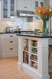 diy bookcase kitchen island. Beautiful Diy View In Gallery Small Shelves Built Into Kitchen Island For Books And  Accessories Throughout Diy Bookcase Kitchen Island E