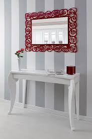 wall mirror long and modern rectangular