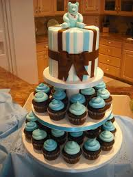 Cupcake Ideas For Baby Shower Boy