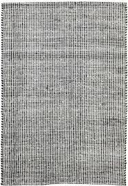 felted wool rug black natural for