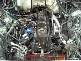 toyota 22re engine build up arp head studs installation