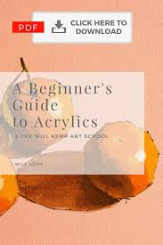 free pdf beginner s guide to acrylics