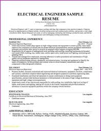 Journeyman Electrician Resume Template Simple Electrical Resume ...
