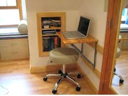 computer desk combo small and easy diy wood wall mounted folding computer desk design with light green leather stool leaning bookcase computer desk