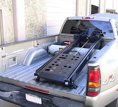 Motorcycle Ramp For Truck Bed Black Widow Aluminum Deluxe Folding ...