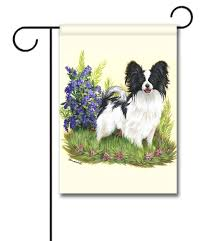 Papillon Sweet Pea Garden Flag 12 5 X 18 Custom Printed Peacock - Inspiration