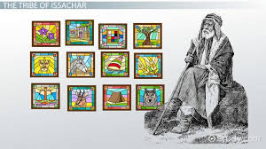 12 Tribes Of Israel Month Chart Tribe Of Issachar History Symbol Facts